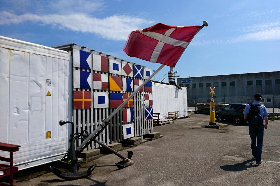 Морской музей в контейнерах (Aarhus Søfarts Museum) г. Орхус, Дания