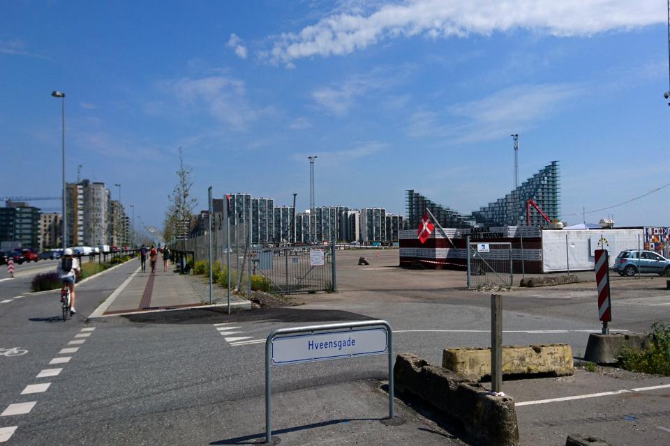Новый современный жилой микрорайон - Орхус Ø / Aarhus Ø, Дания