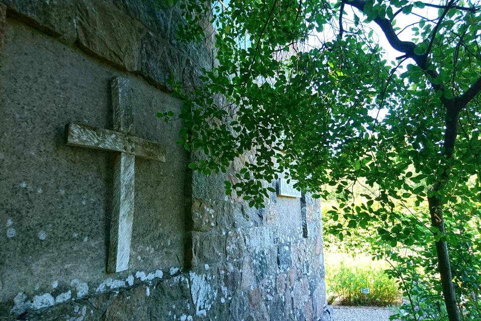 Аптекарский огород в музее тарого монастыря (Øm Kloster)