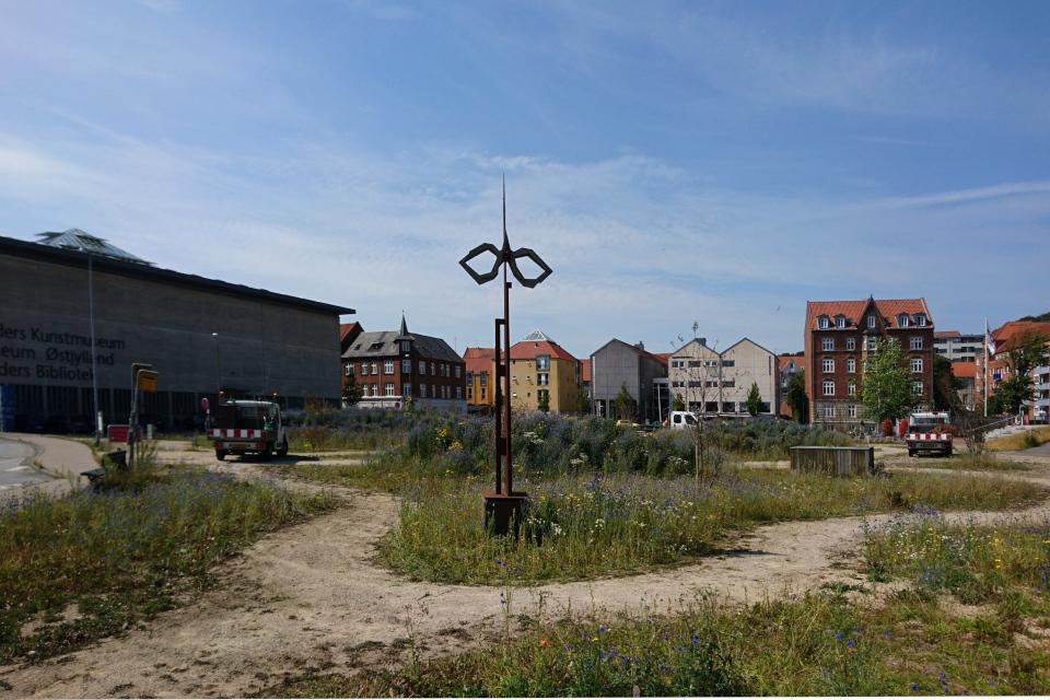 Рабочие по озеленению и благоустройству города, Дания