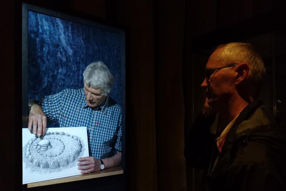 Дольмен Поскэр, музей Мосгорд Дания