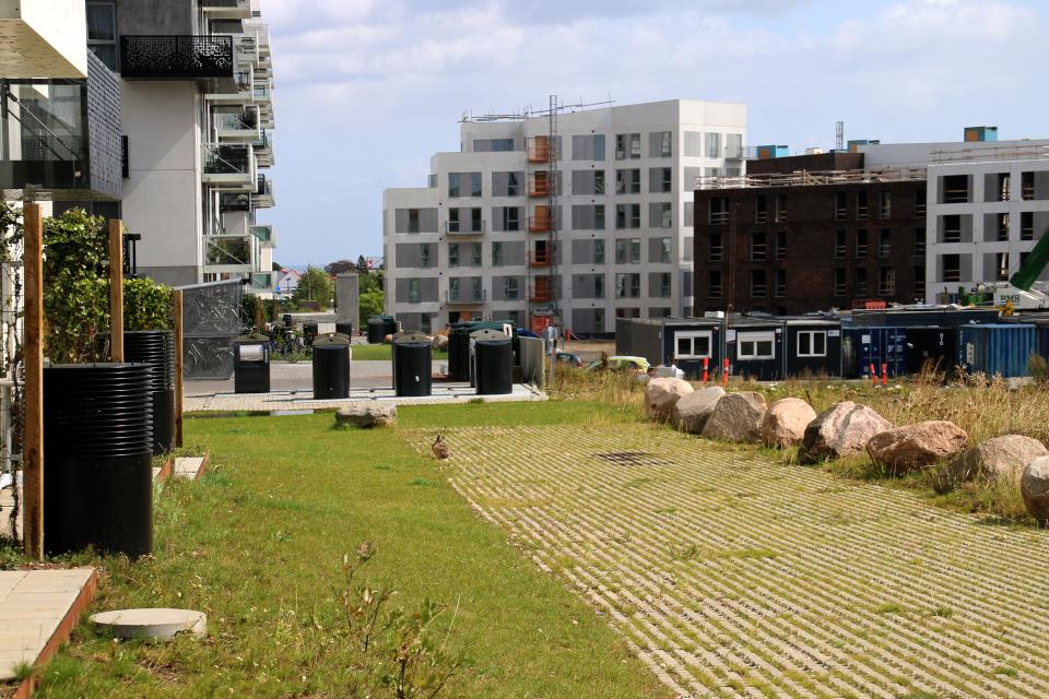 Обратная сторона жилого комплекса. Фото 11 авг. 2019, Орхус / Aarhus, Дания