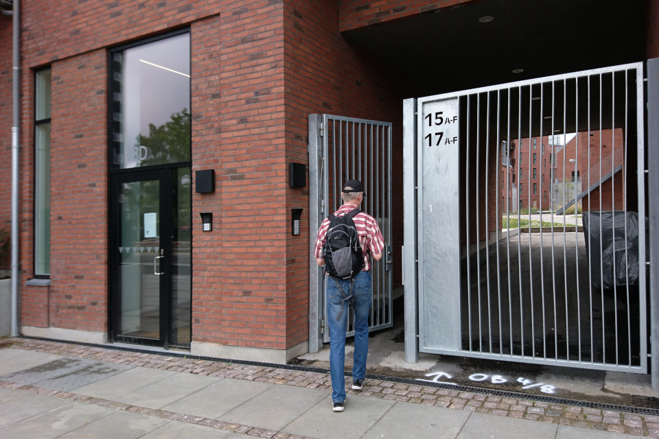 Жилой дом - новостройка в центре г. Орхус, Дания. Фото 31 июл. 2019