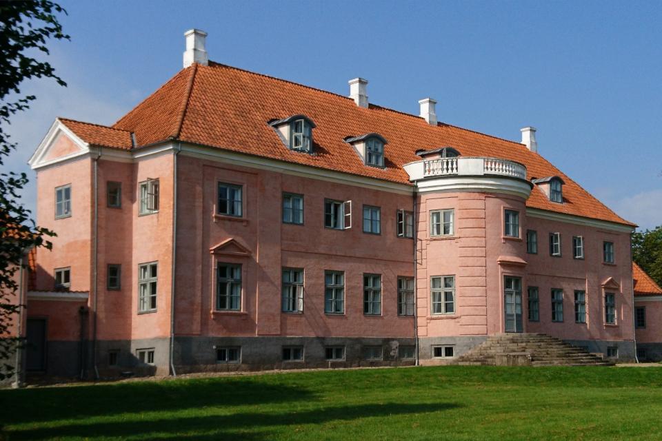 Дворец Moesgaard, построенный в начале 17 столетия