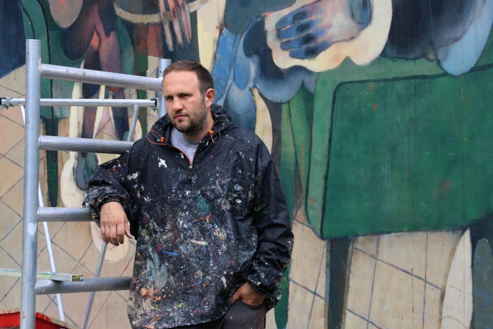 Морик Марат Данильян Стрит-арт Орхус 2019 Праздничная неделя