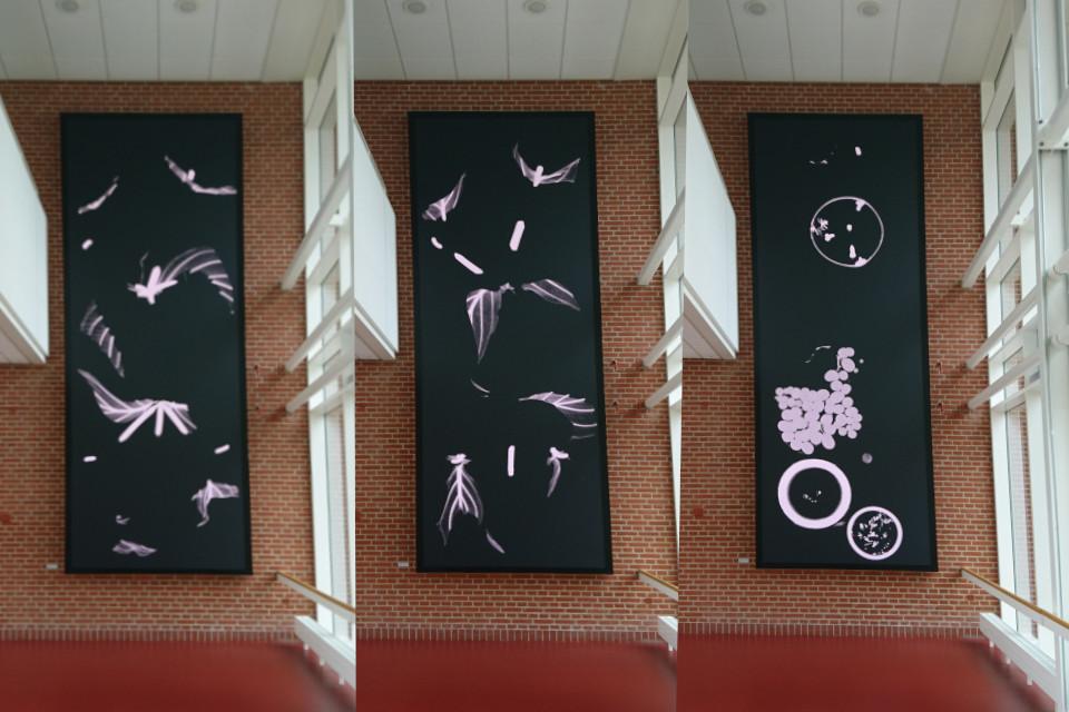 детали инсталляции Ханне Йонсенс (Hanne Johnsens) и Биргит Нильсен (Birgit Nielsen)