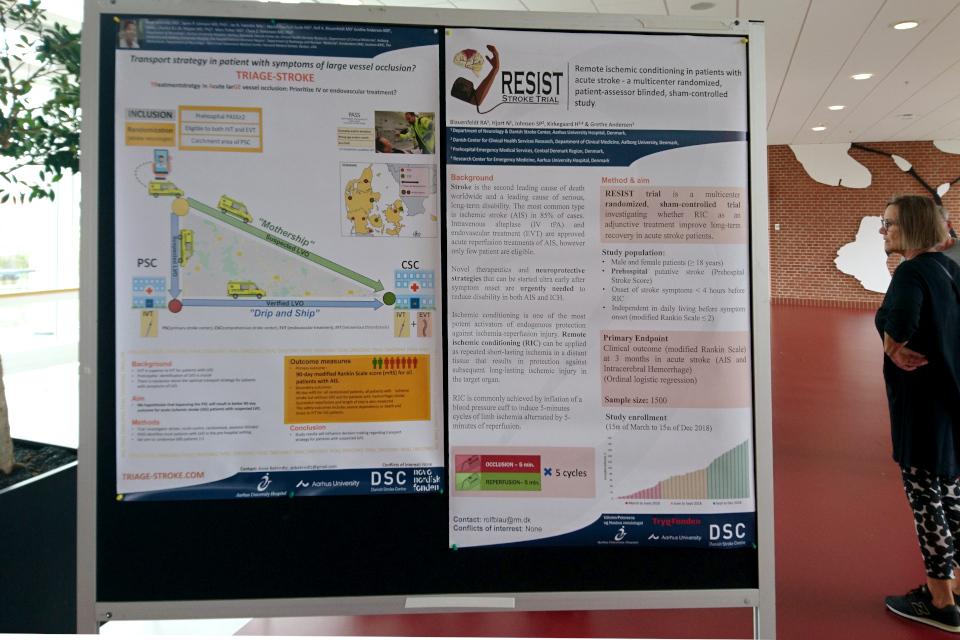 Плакат про стратегию лечения и транспортировки пациентов