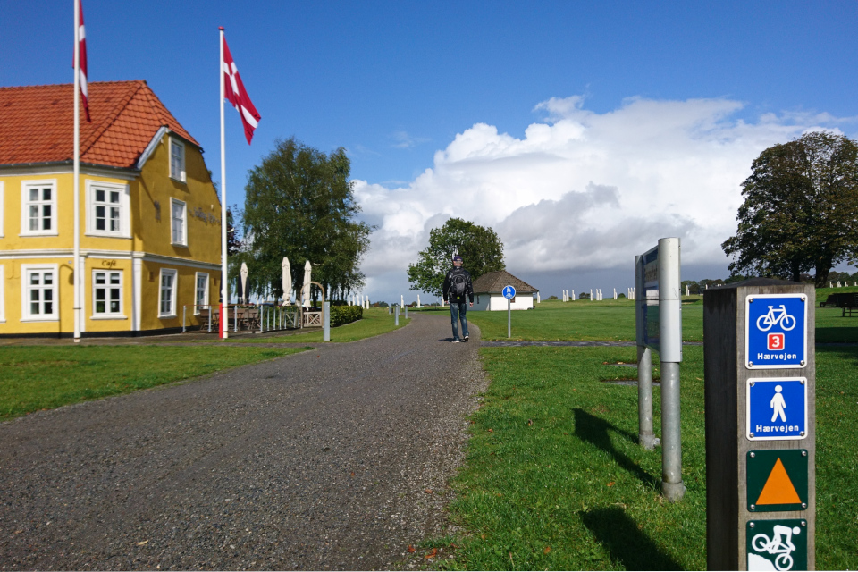 Старая гостиница (Jelling Kro) на территории археологического комплекса