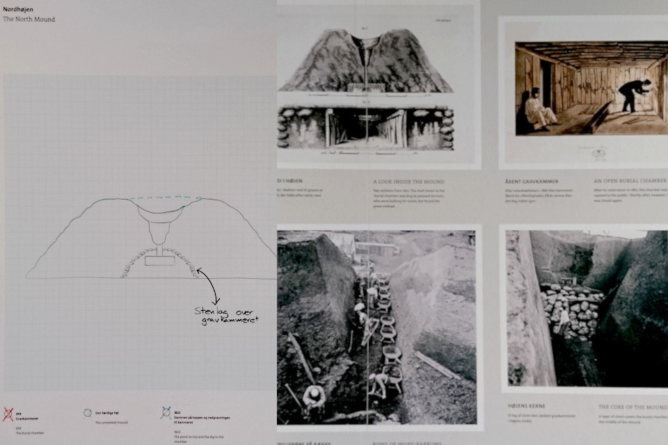 Фотографии, сделанные во время раскопок и иллюстрации