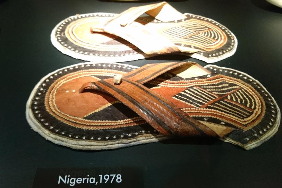 Сандали из Нигерии, 1978 г.