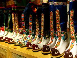 Выставка обуви в музее Мосгорд