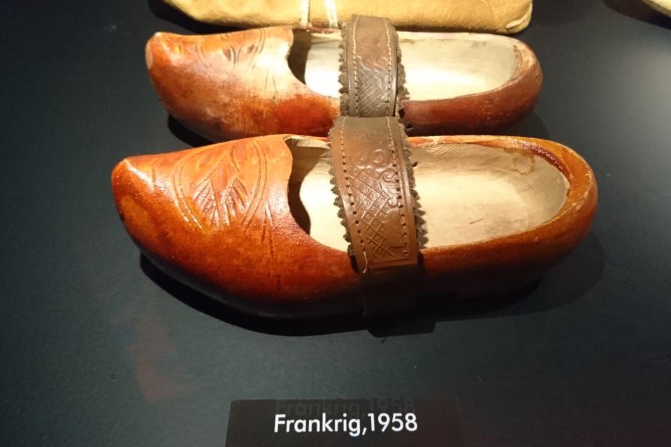 Деревянные башмаки из Франции - сабо, 1958 г.