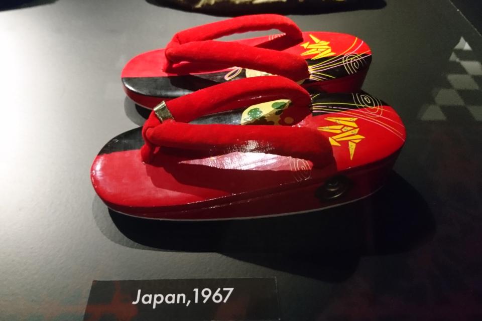 Японские сандали - дзори ( 1967)