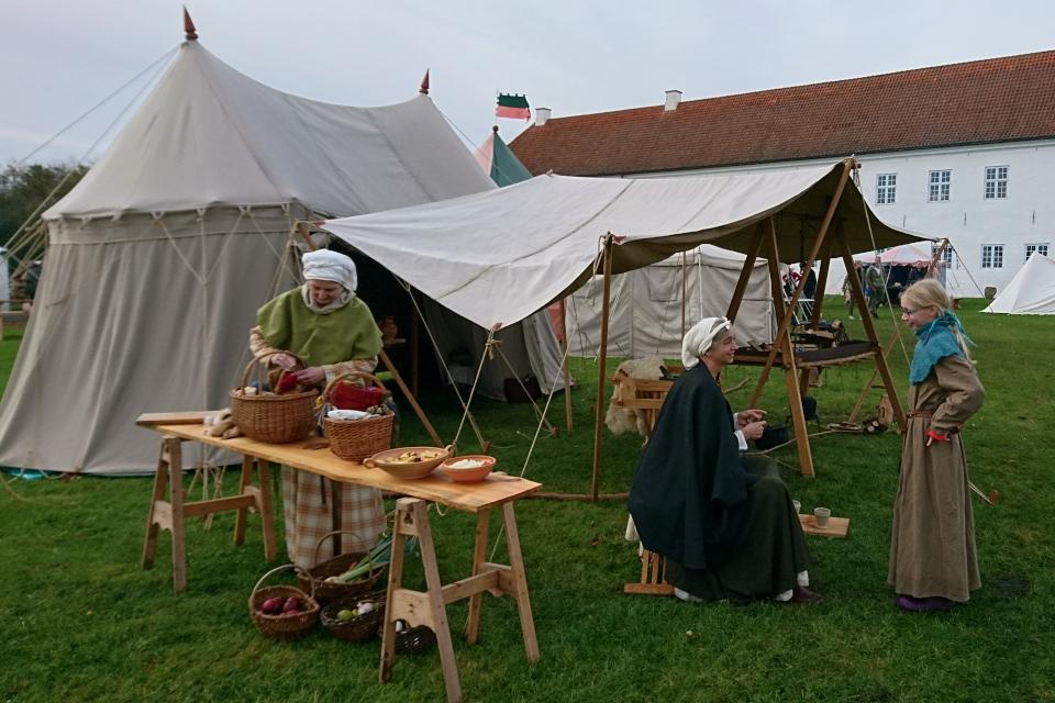 Средневековый фестиваль в монастыре Витскол,13окт. 2019, Дания