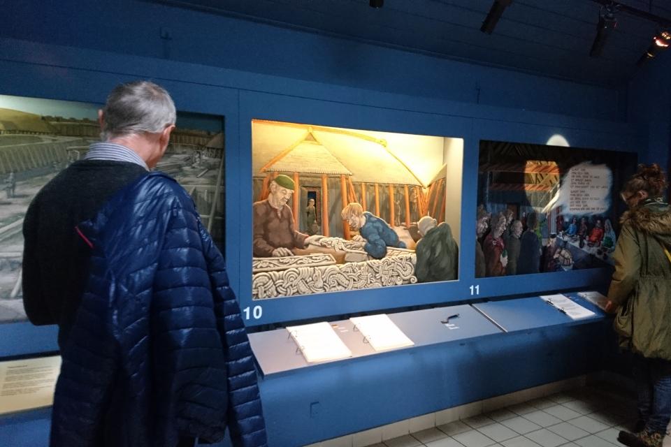 В музее крепости викингов Аггерсборг. Фото 13 окт. 2019, г. Лёгстёр / Løgstør, Дания