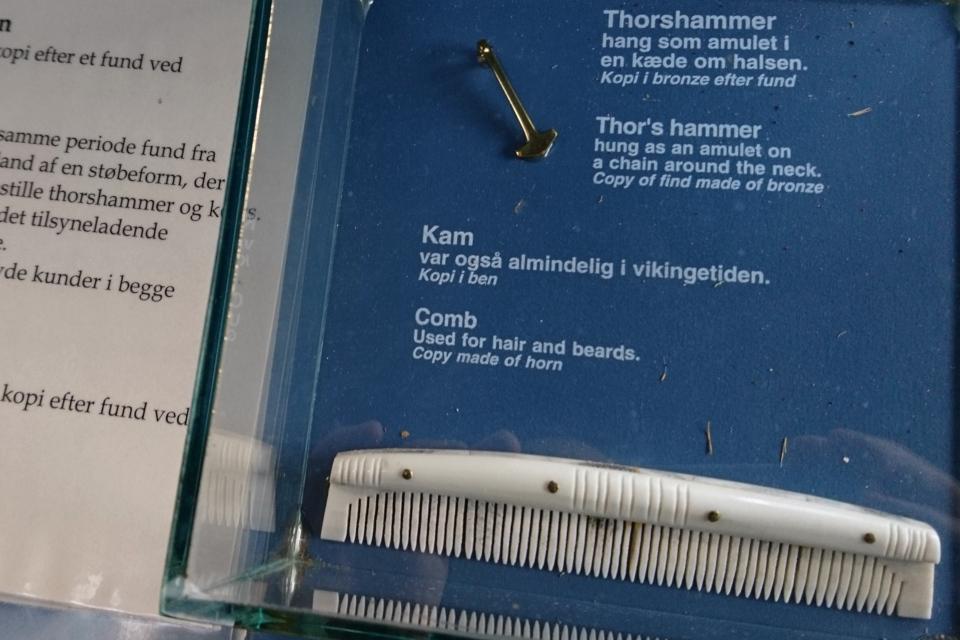 Копия амулета Торс Хаммер (дат. Thors Hammer) - символ языческого бога Тора и расчески