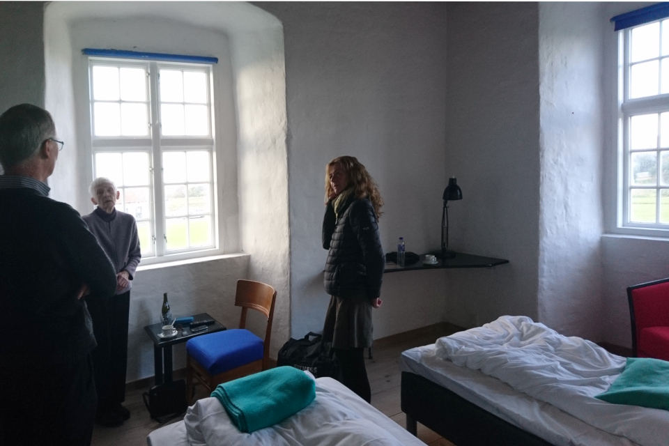 Угловая комната в гостинице бывшего монастыря, монастырь Витскол, Дания