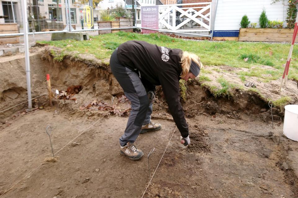 Открытая археология в Скандерборге, Munkekroen. Фото 17 окт. 2019
