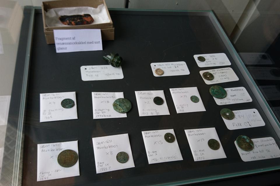 Открытая археология в Скандерборге - находки: монеты. Фото 17 окт. 2019