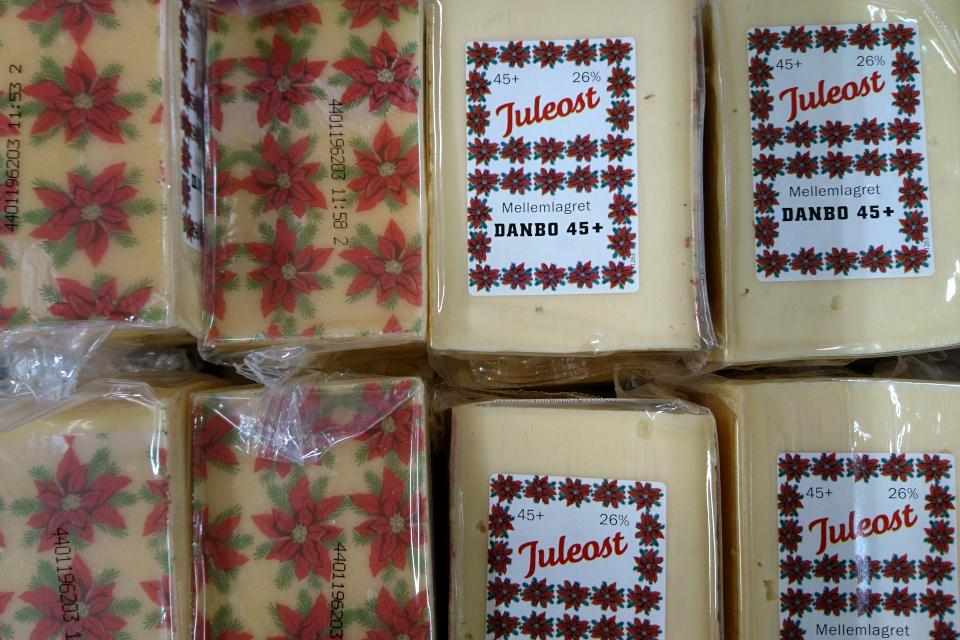 Рождественский сыр (дат. Juleost), Дания