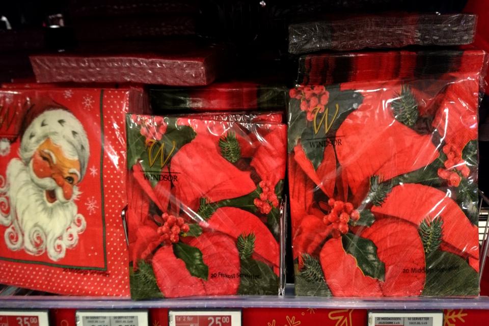 Салфетки с рождественскими мотивами. Фото 8 нояб. 2019, Дания