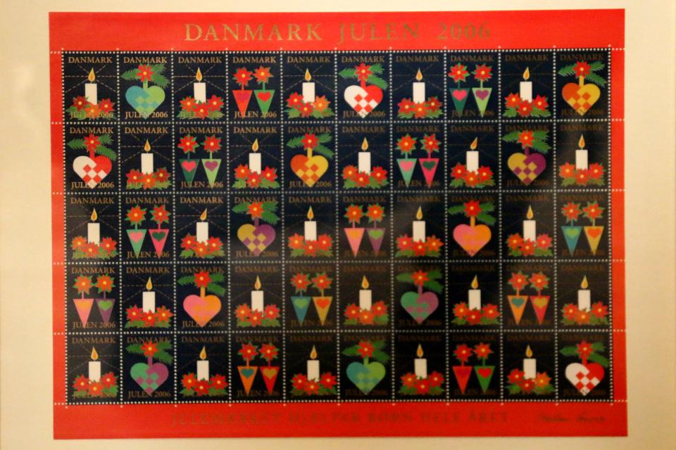 Рождественские почтово-благотворительные марки 2006 года, Дания
