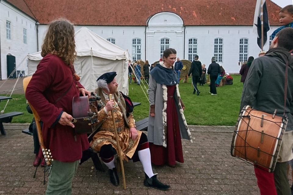 Virelai. Средневековый фестиваль в монастыре Вицкол 13окт. 2019, Дания