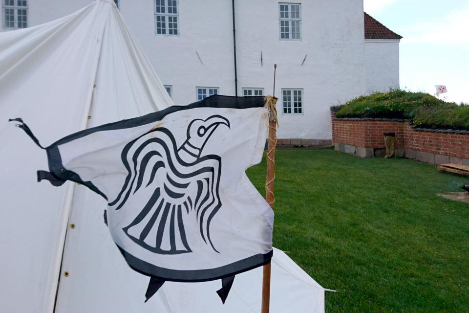 Треугольный флаг Danibrоk, Средневековый фестиваль в монастыре Витскол