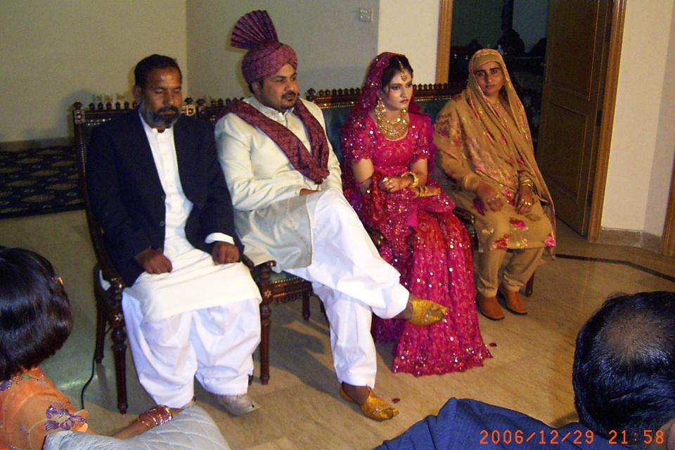 На свадьбе в Пакистане, 28 дек. 2006. Фото сделано на свадьбе однокурсника.