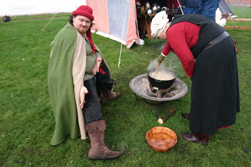 Сапоги с носом. Средневековый фестиваль в монастыре Витскол