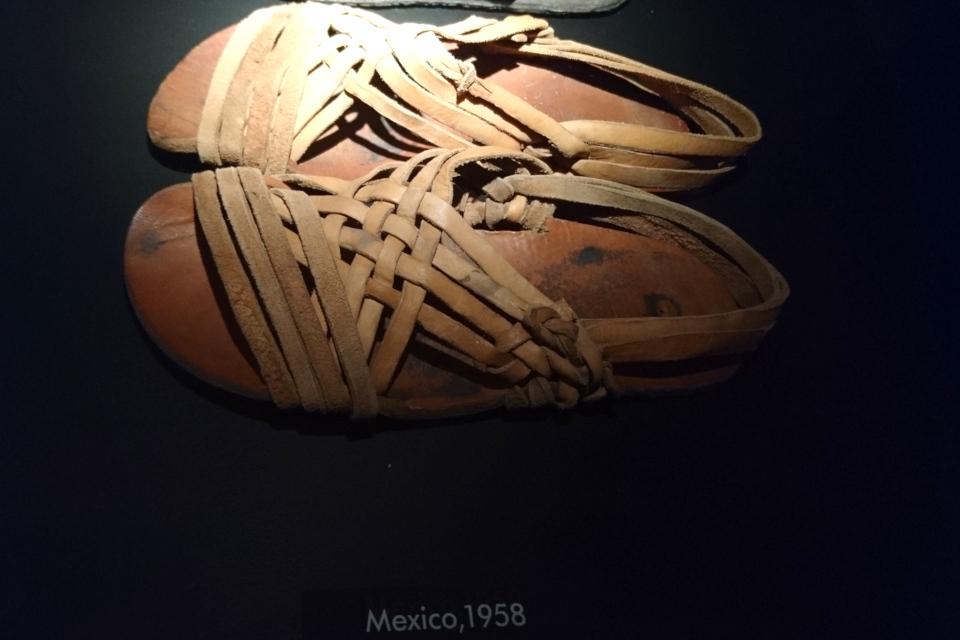 Мексиканские сандали, приобретенные в 1958 г.