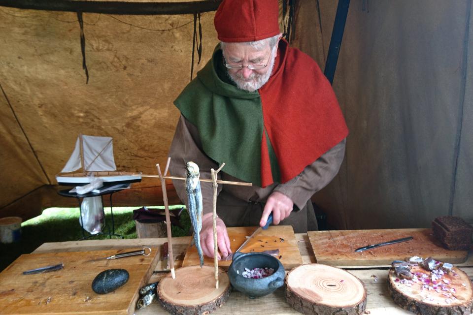 Средневековый фестиваль в монастыре Витскол 12окт. 2019, Дания