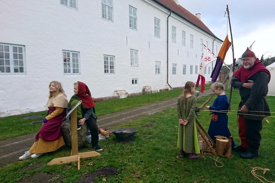 Bo Jacobsen. Средневековый фестиваль в монастыре Витскол 13окт. 2019, Дания