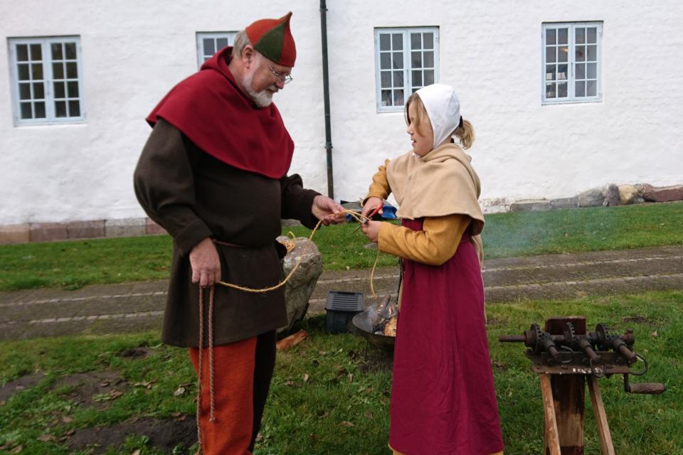 Bo Jacobsen.Средневековый фестиваль в монастыре Витскол 13окт. 2019, Дания