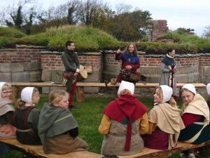 Средневековый фестиваль в монастыре Витскол