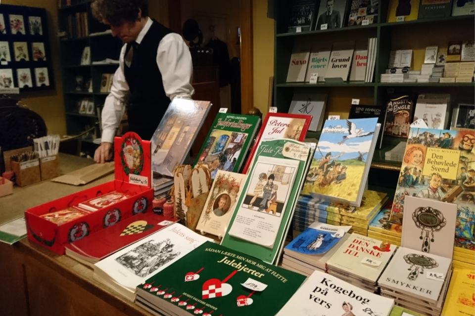 нижка-ретро - копия первого рождественского календаря Дания