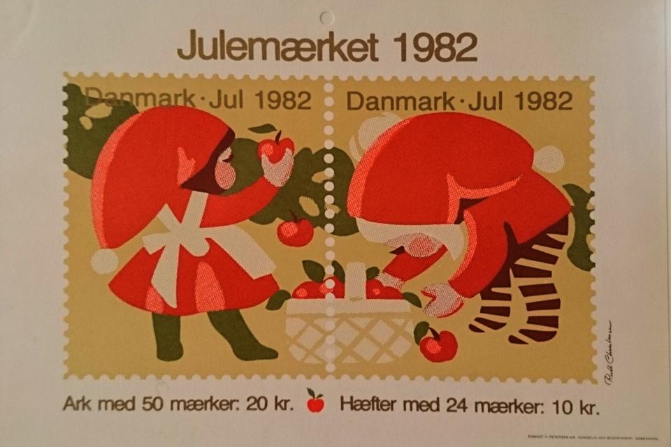Мотив рождественских почтово-благотворительных марок 1982 года