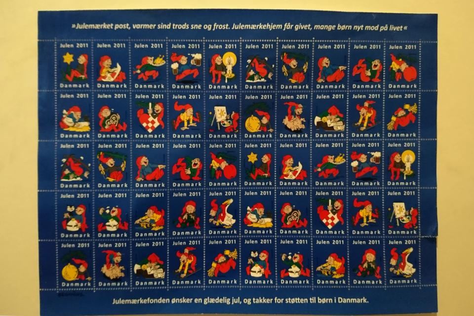 Почтово-благотворительные марки 2011 года с мотивами ниссе Браммин