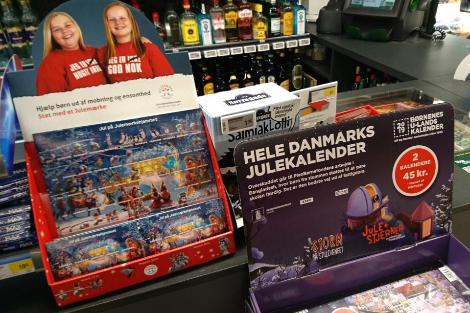 благотворительный рождественский календарь ТЕЛЕканала (TV 1), Дания