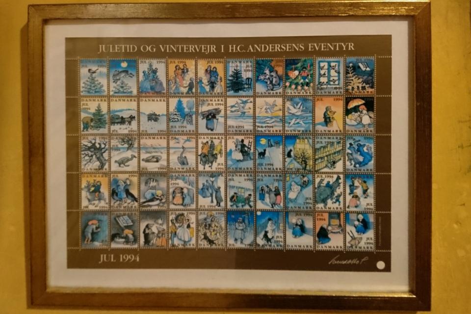 Рождественские почтово-благотворительные марки в Дании 1994
