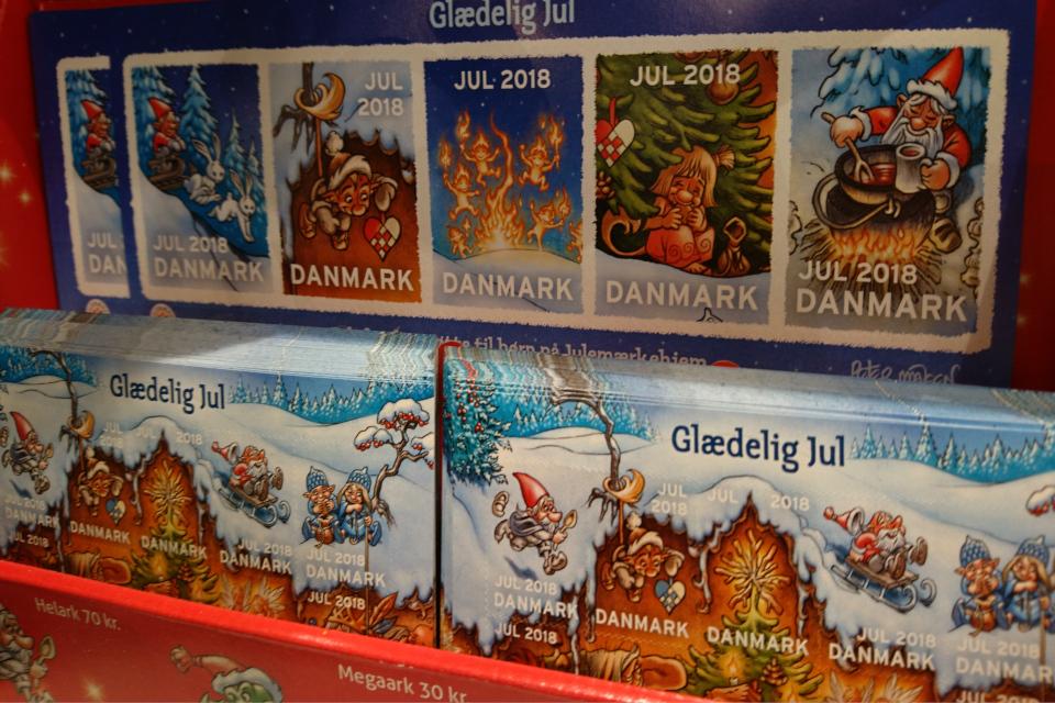 Рождественские почтово-благотворительные марки в Дании 2018