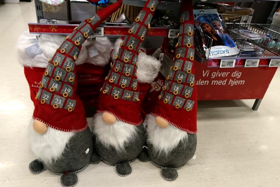 Рождественский календарь в Дании ниссе