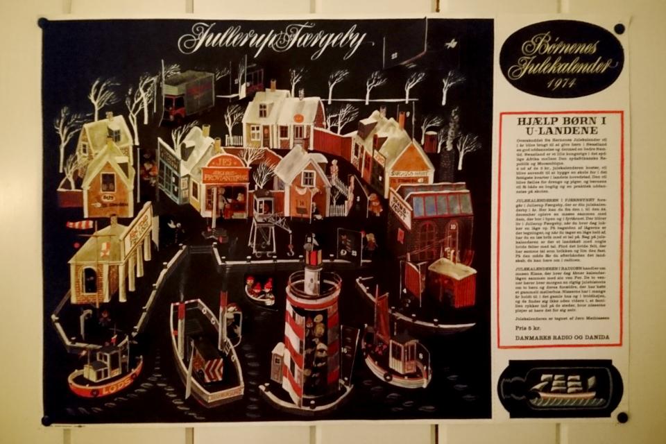 Благотворительный рождественский календарь 1974 года