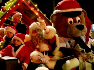 Рождественский парад в Орхусе