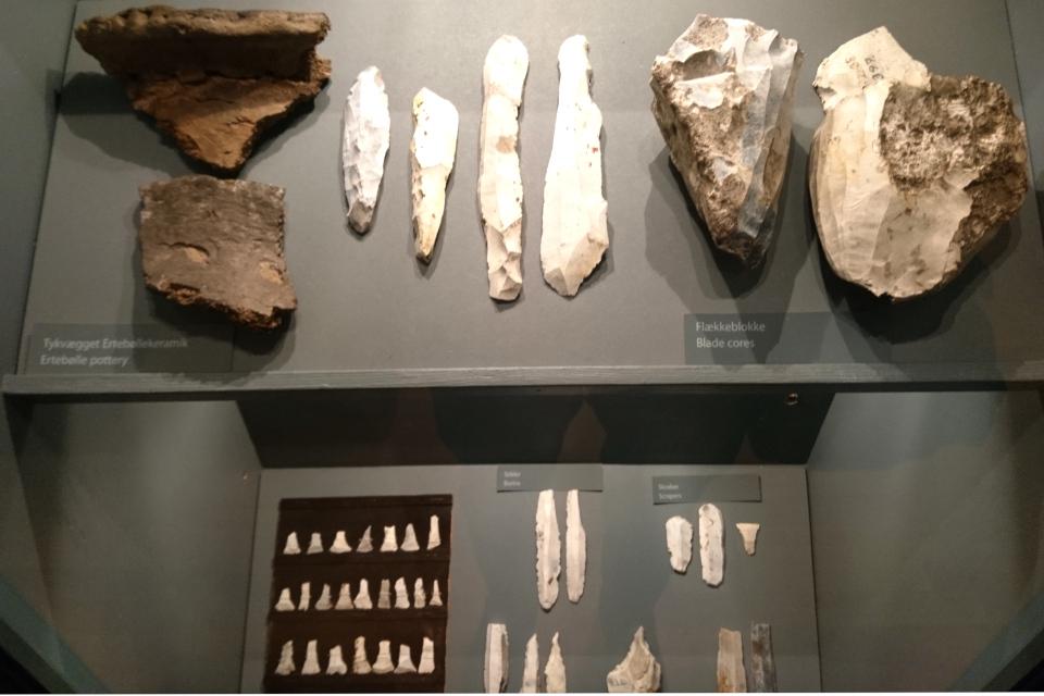 Орудия труда из камня культуры Эртебёлле