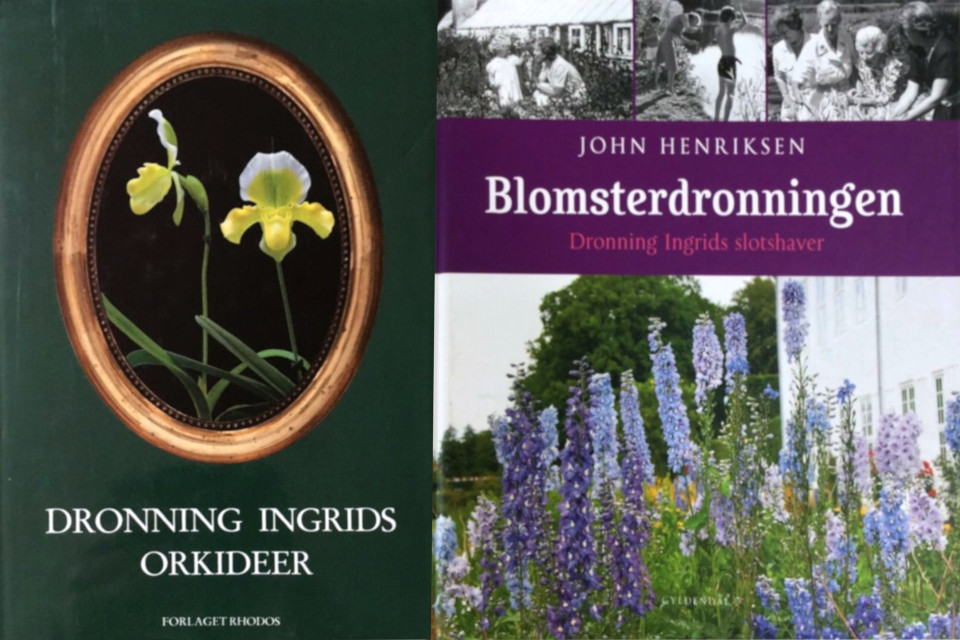 "Книга ""Орхидеи королевы Ингрид (дат. ""Dronning Ingrid orkideer"")"