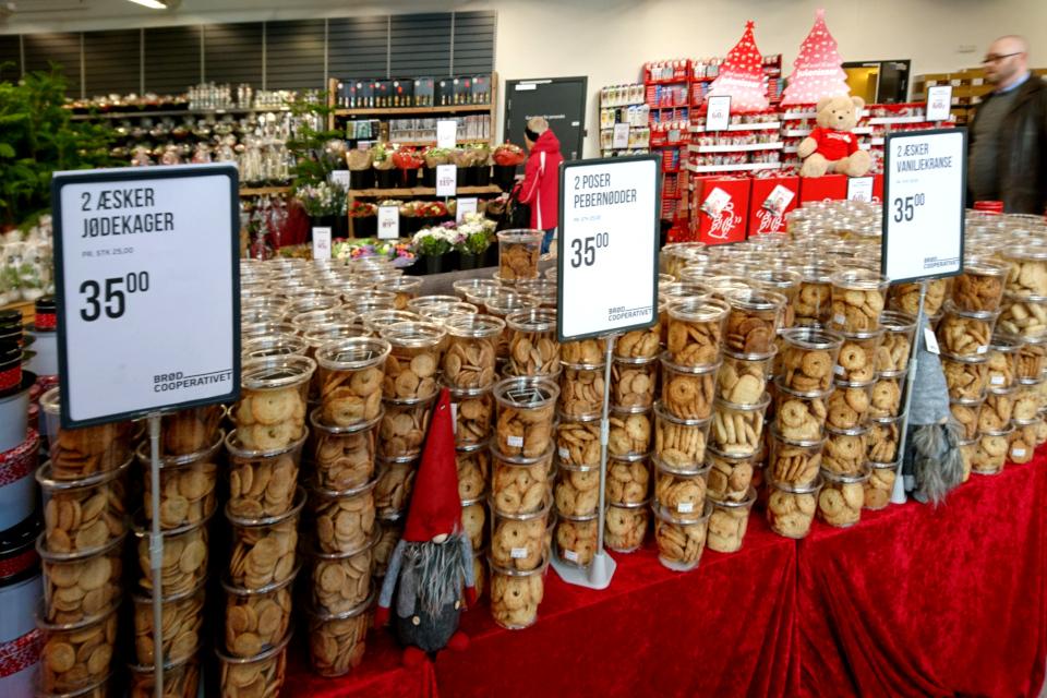 традиционная датская рождественская выпечка: еврейское печенье