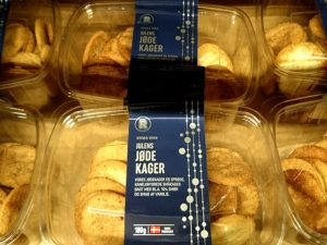 Еврейское печенье в Дании