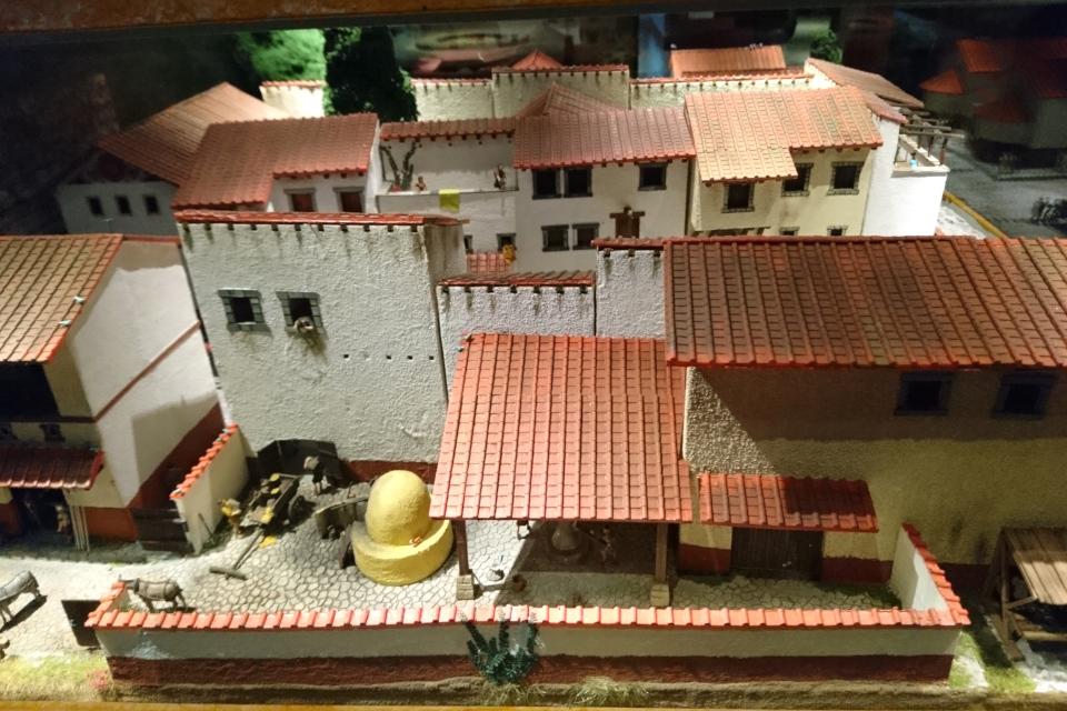 Внутренний дворик дома г. Помпеи