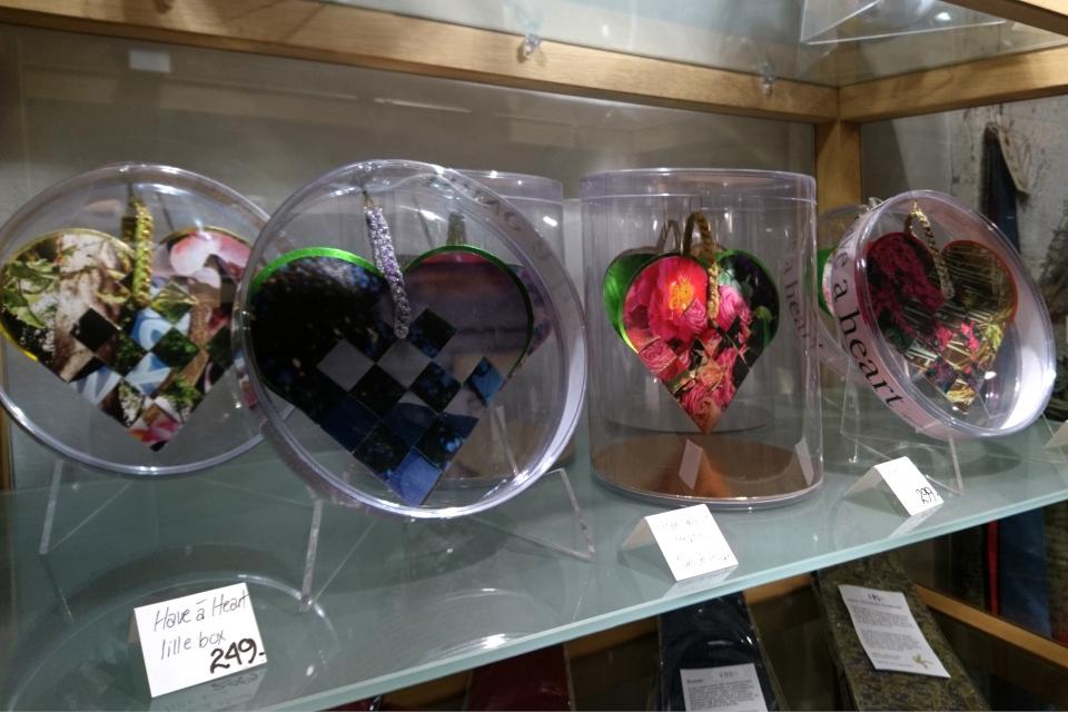 Сердечки-сувениры в подарочных коробочках, Дания